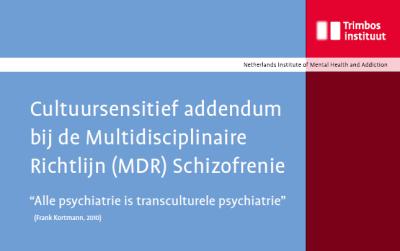 Cultuursensitief addendum bij de Multidisciplinaire Richtlijn (MDR) Schizofrenie